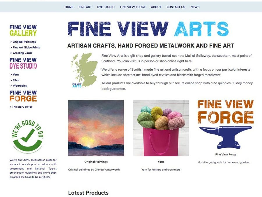 New Shop at Fine View Arts